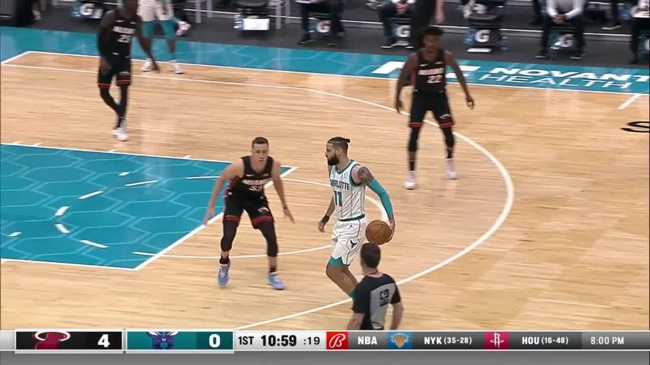 Charlotte Hornets Highlights vs. Miami Heat