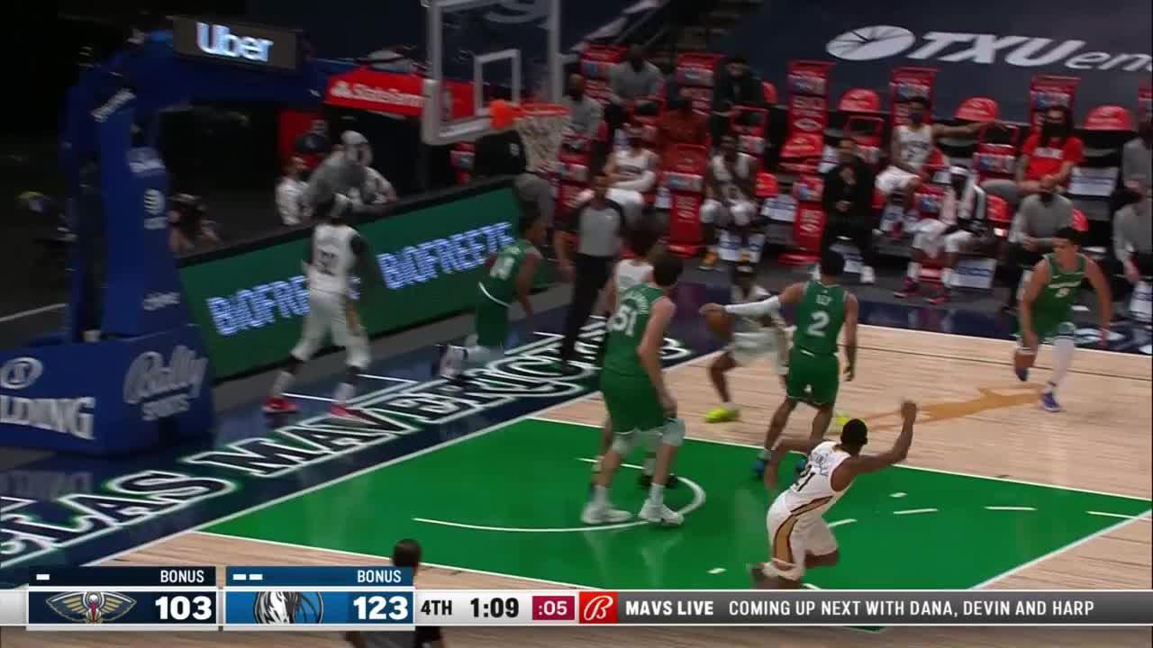 New Orleans Pelicans Highlights vs. Dallas Mavericks 5-12-21