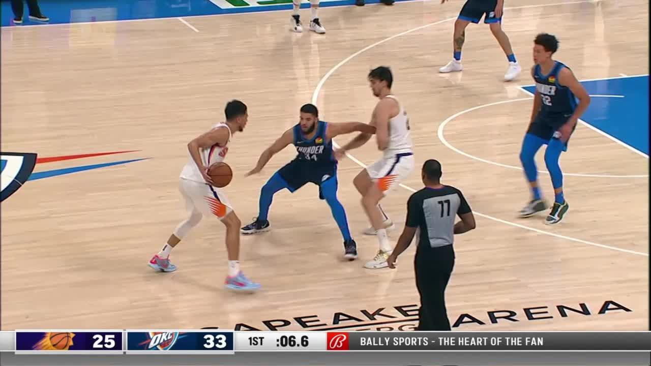 Phoenix Suns with a 11-0 Run vs. Oklahoma City Thunder