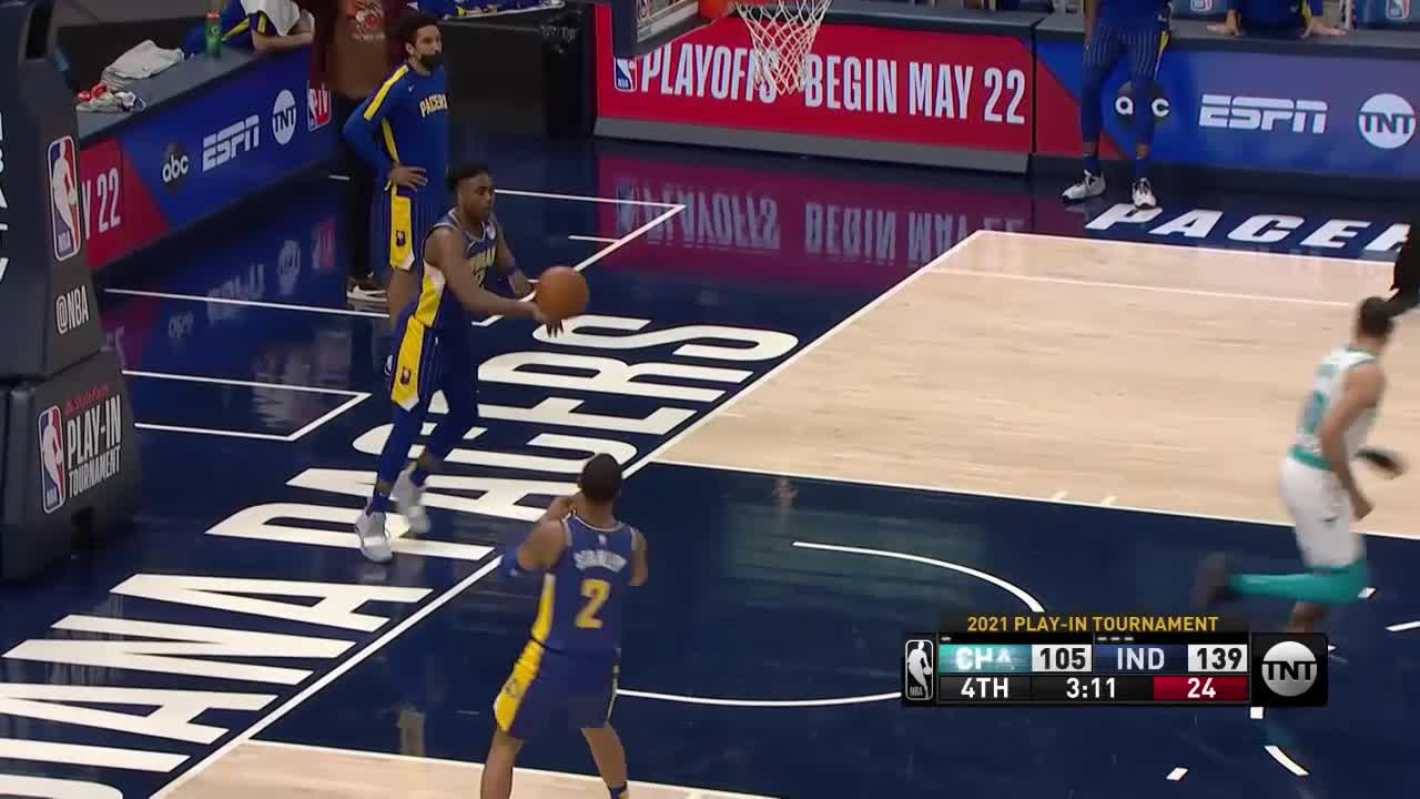 Charlotte Hornets Highlights vs. Indiana Pacers