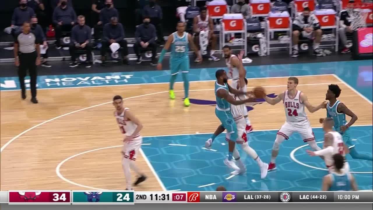 Charlotte Hornets Highlights vs. Chicago Bulls