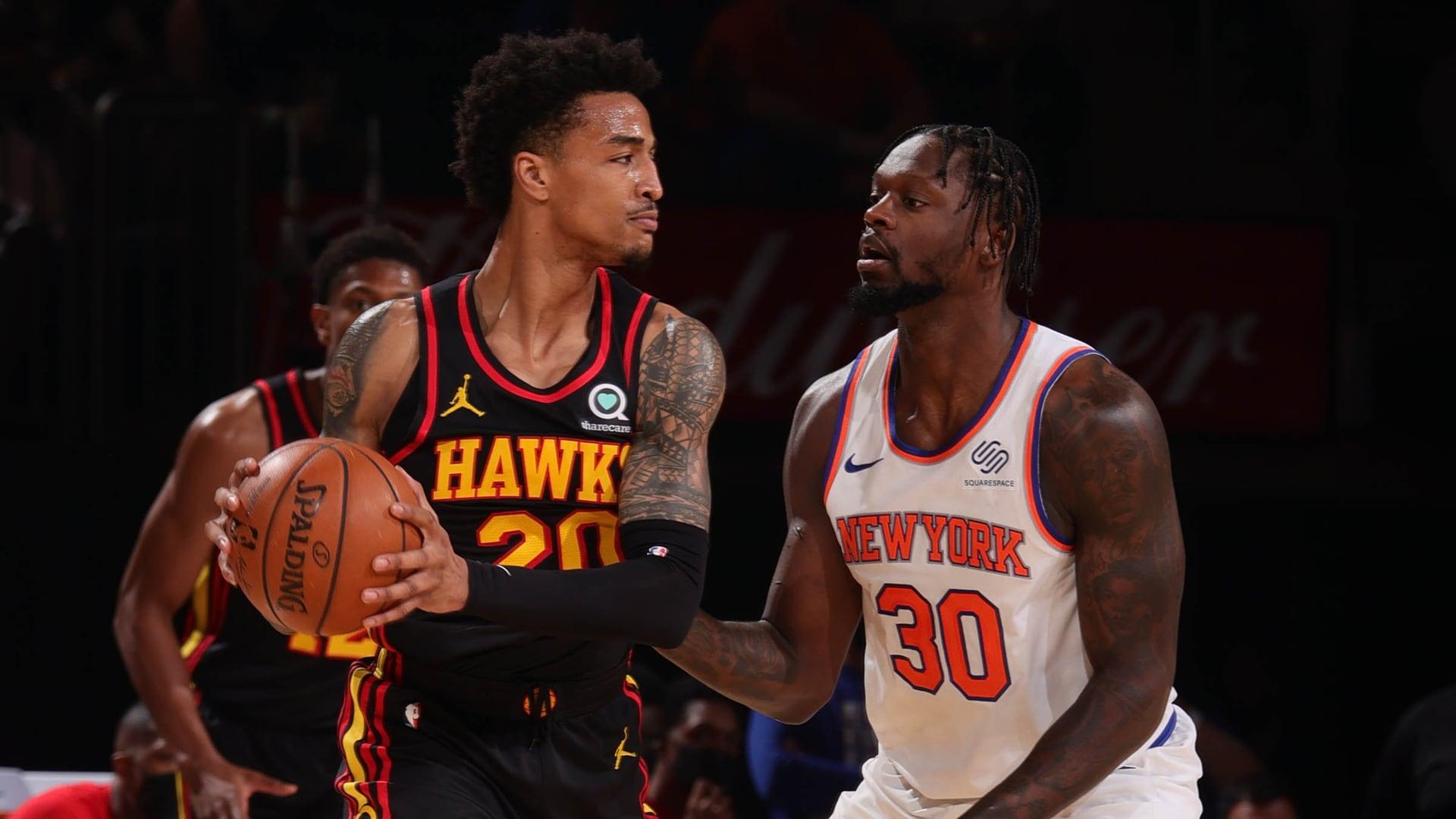 Game Recap: Hawks 107, Knicks 105