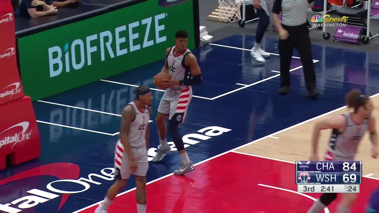 Charlotte Hornets with a 12-0 Run vs. Washington Wizards