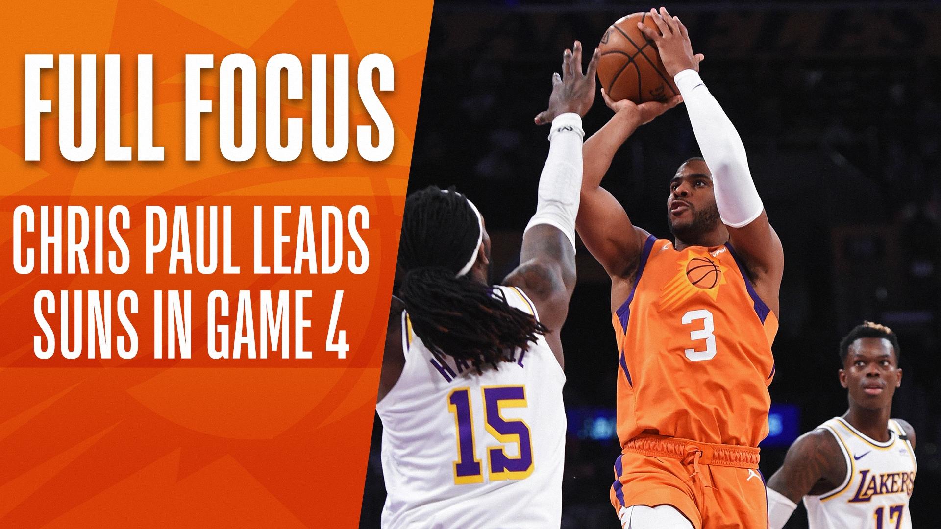 Full Focus: Chris Paul comes through, Suns tie series
