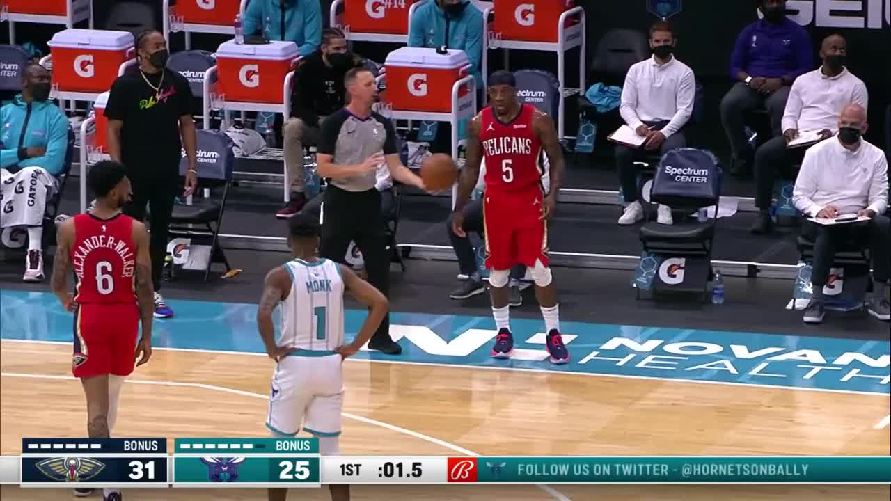 New Orleans Pelicans Highlights vs. Charlotte Hornets