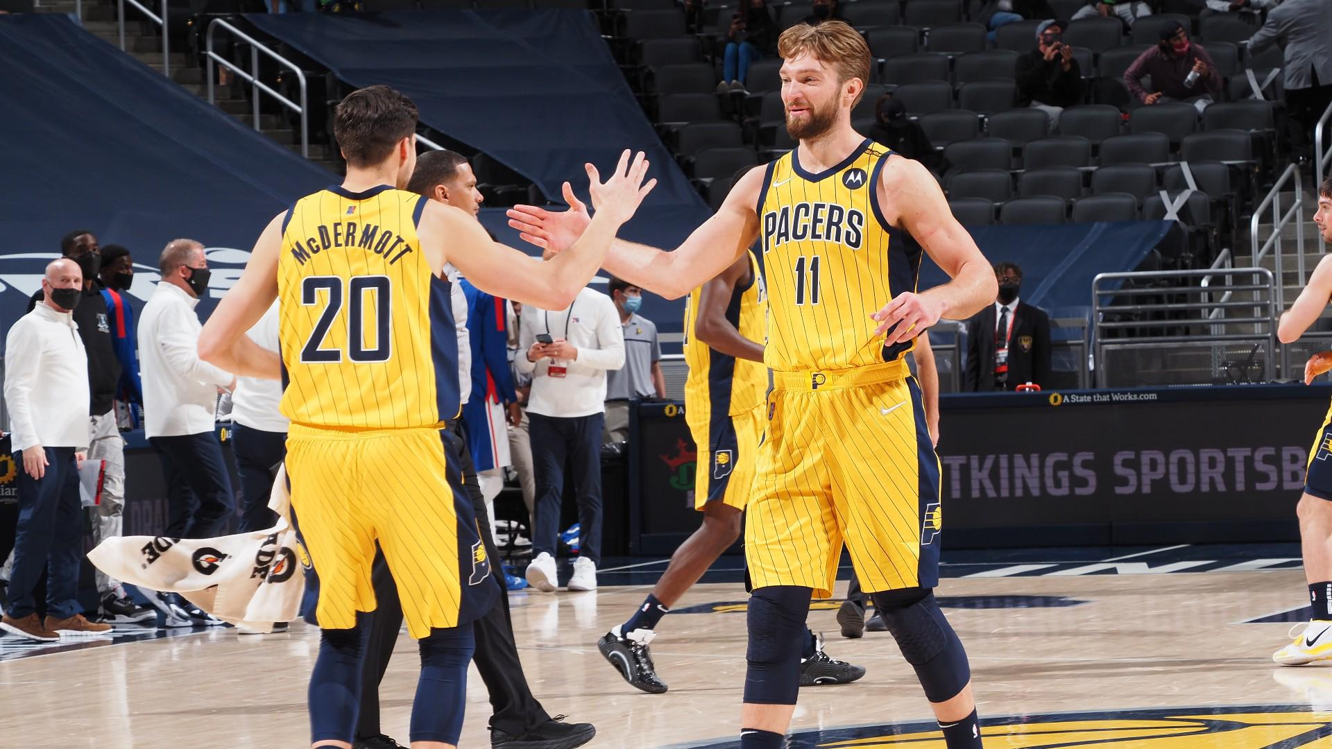 Domantas Sabonis records his 9th triple-double of the season and racks up a career-high 15 assists