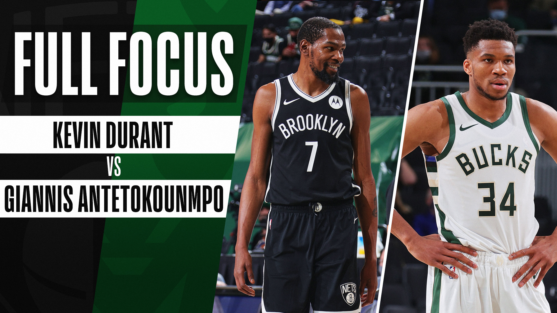 Full Focus: Durant and Giannis duel in Milwaukee