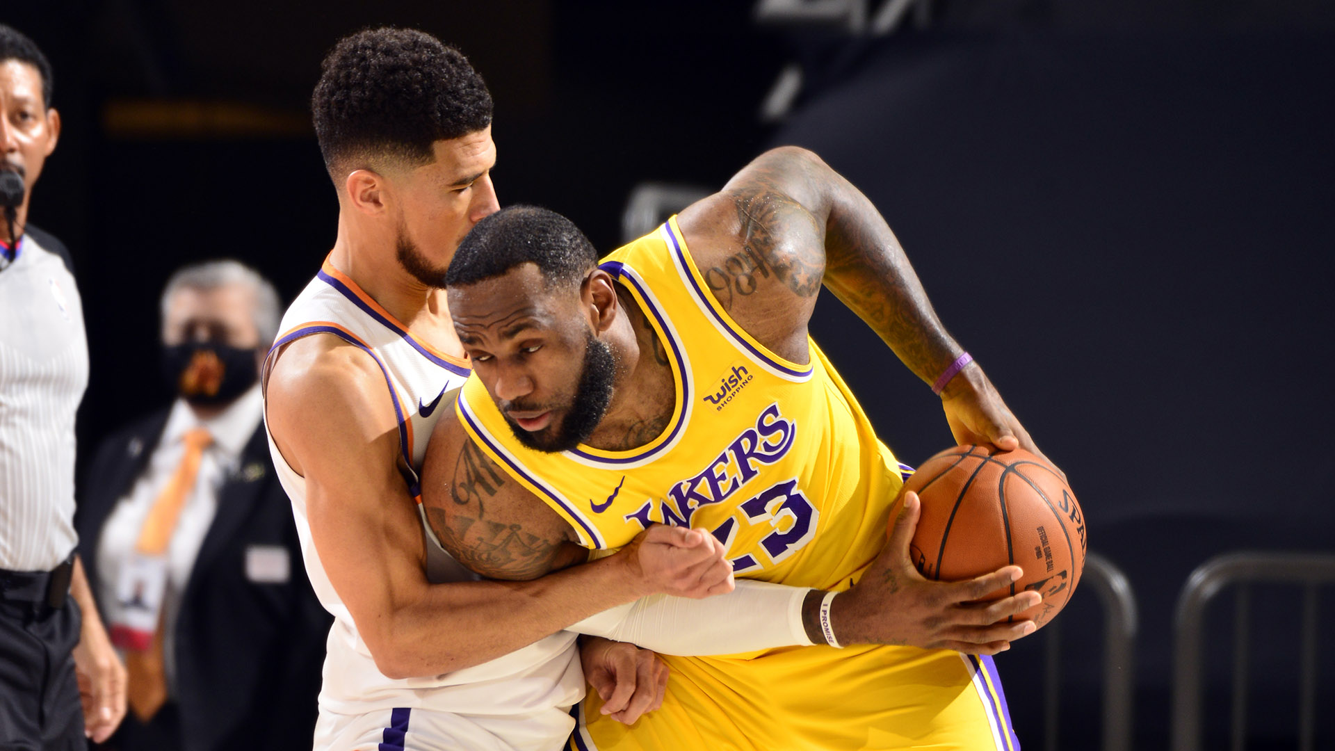 Numbers preview: Suns (2) vs. Lakers (7)