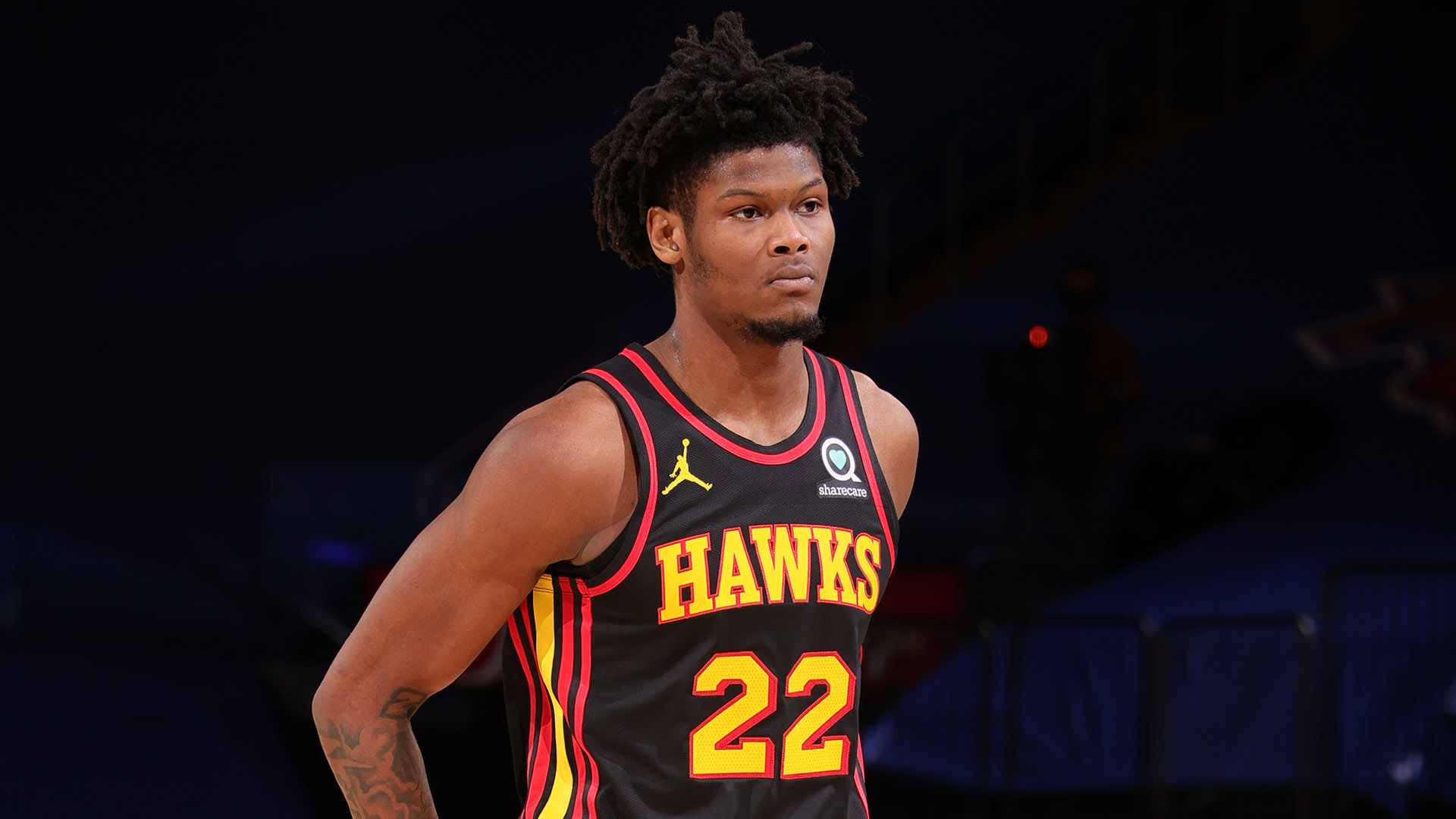 Hawks' Cam Reddish expected to miss first round of playoffs