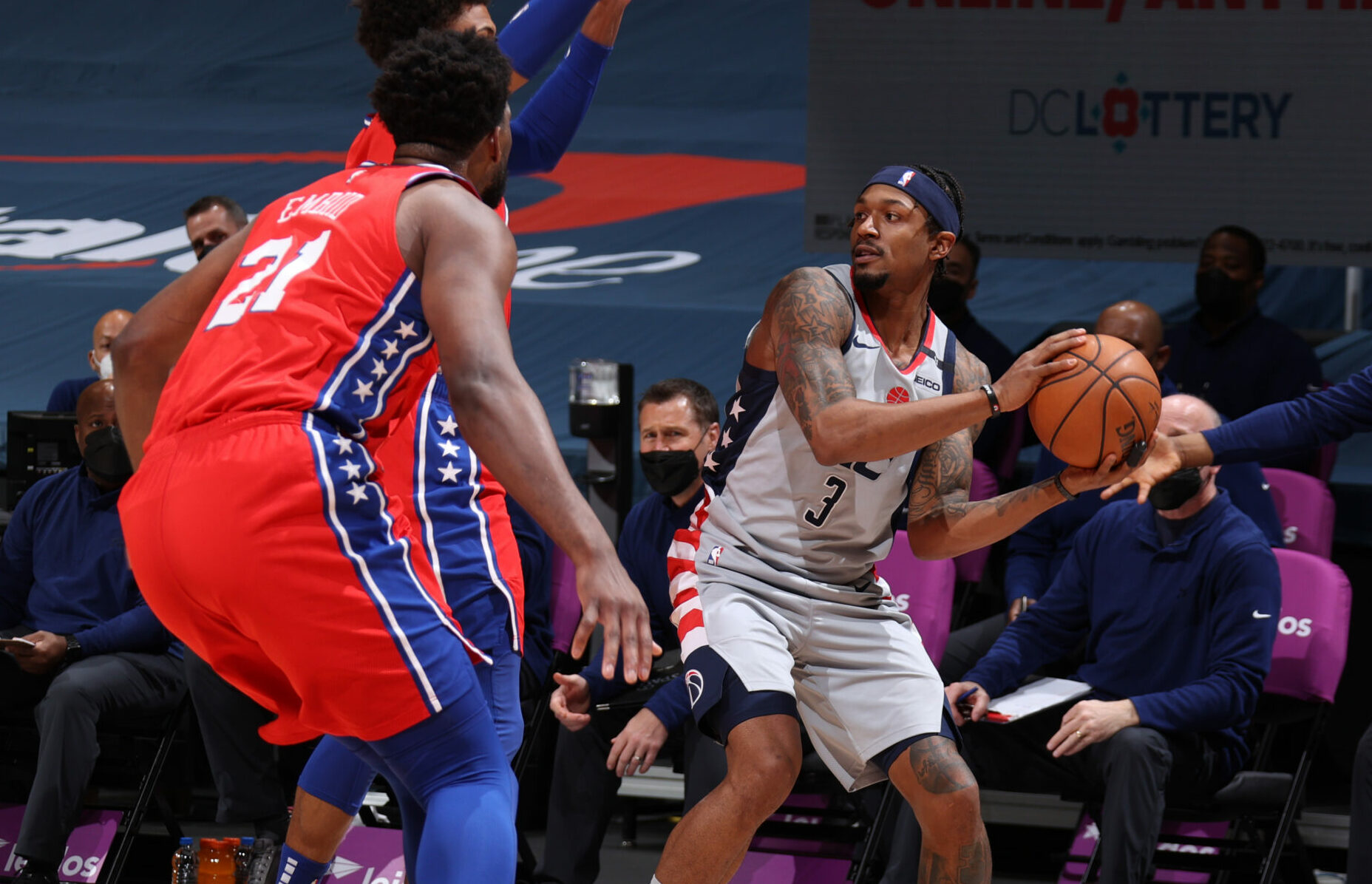 Numbers preview: Sixers (1) vs. Wizards (8)