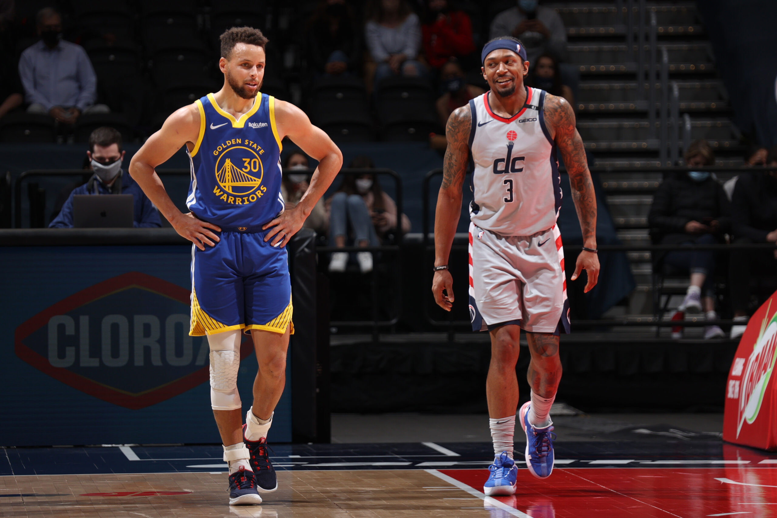 Stephen Curry on cusp of 2nd scoring title