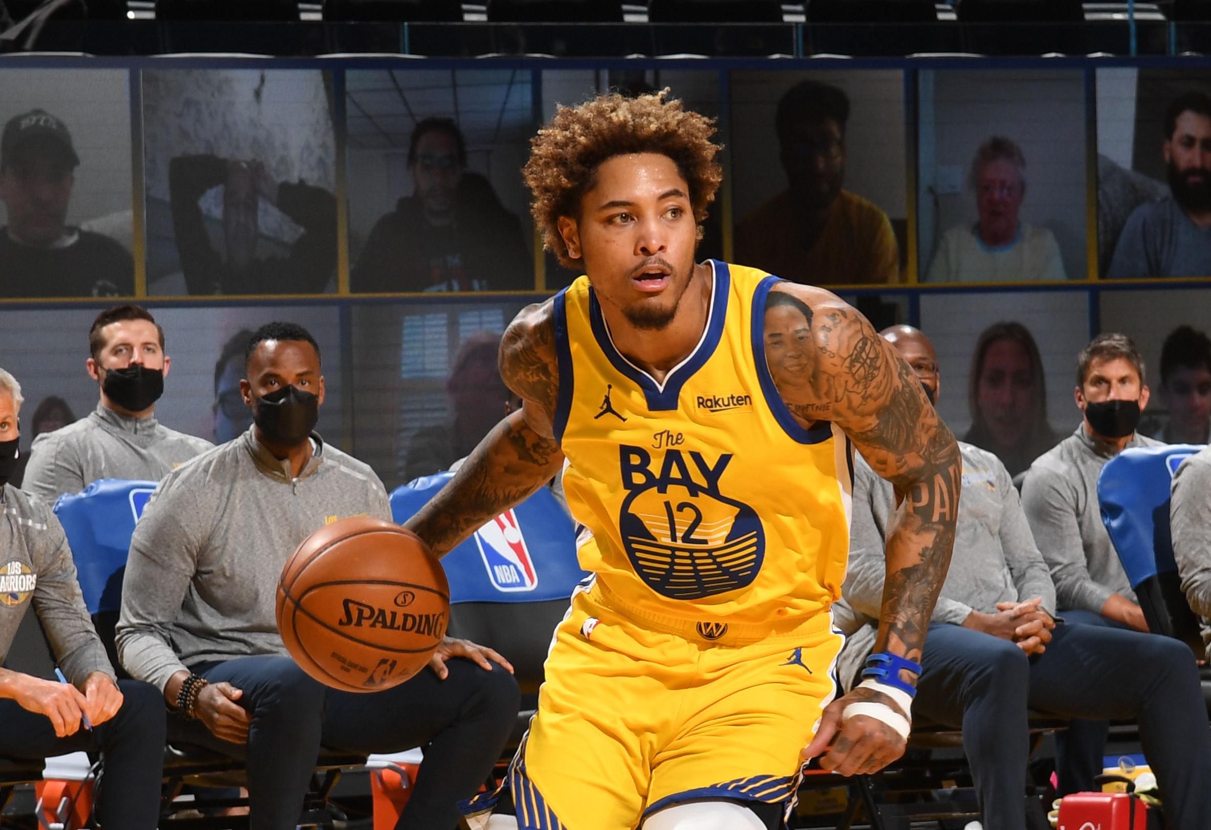 Warriors' Oubre out at least another week after MRI reconfirms wrist fracture, ligament tear