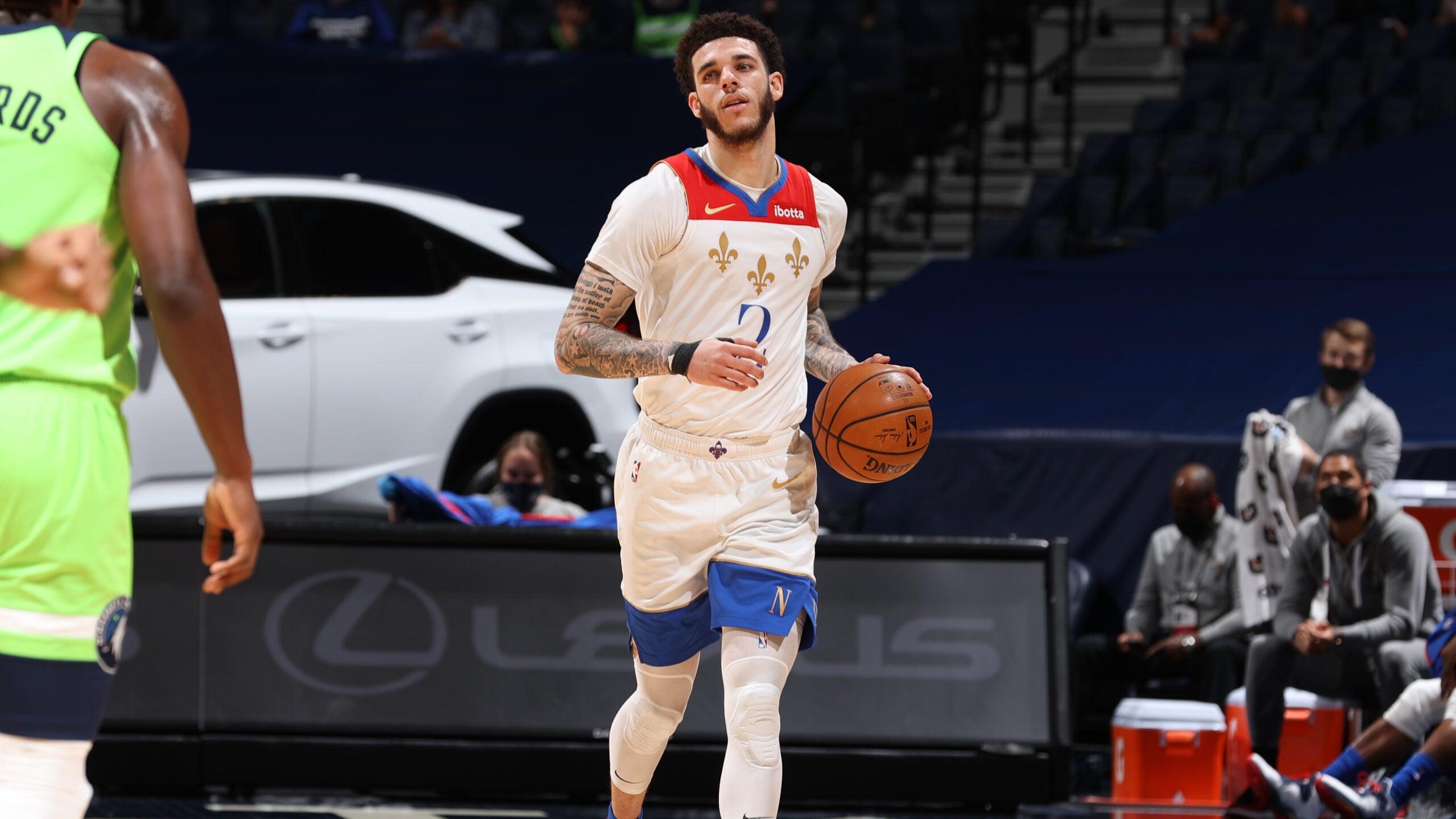 Pelicans Stat Leader Highlights: Lonzo Ball tallies 33 points vs. Minnesota Timberwolves