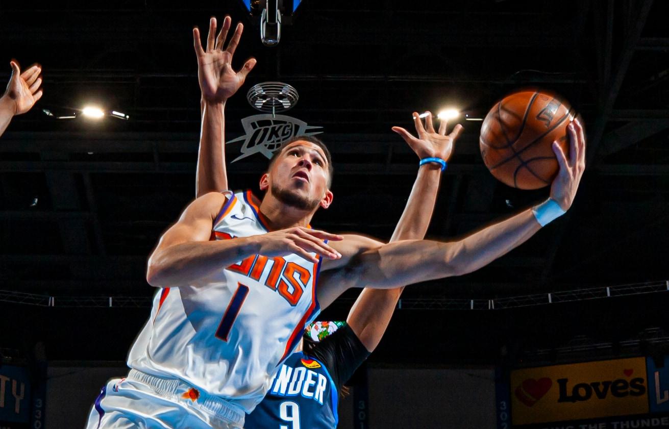 Devin Booker (32 points) Highlights vs. Oklahoma City Thunder