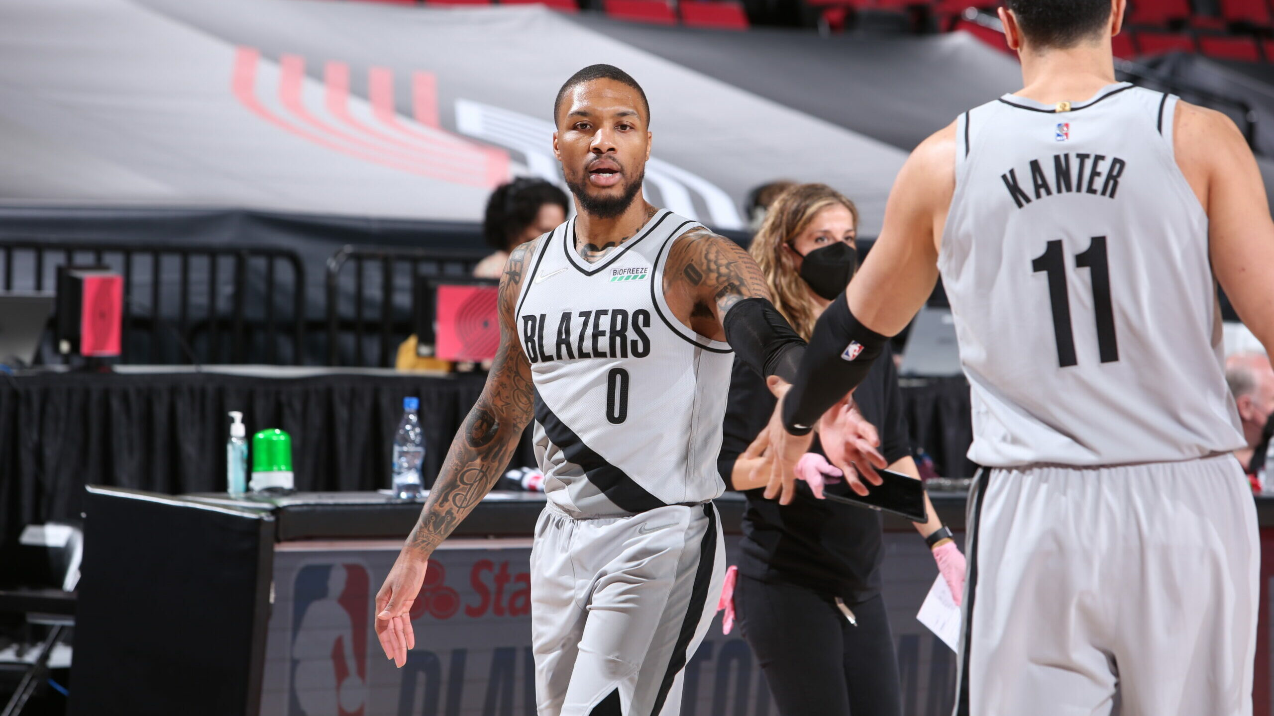 Blazers look to build on lead over Lakers for 6th