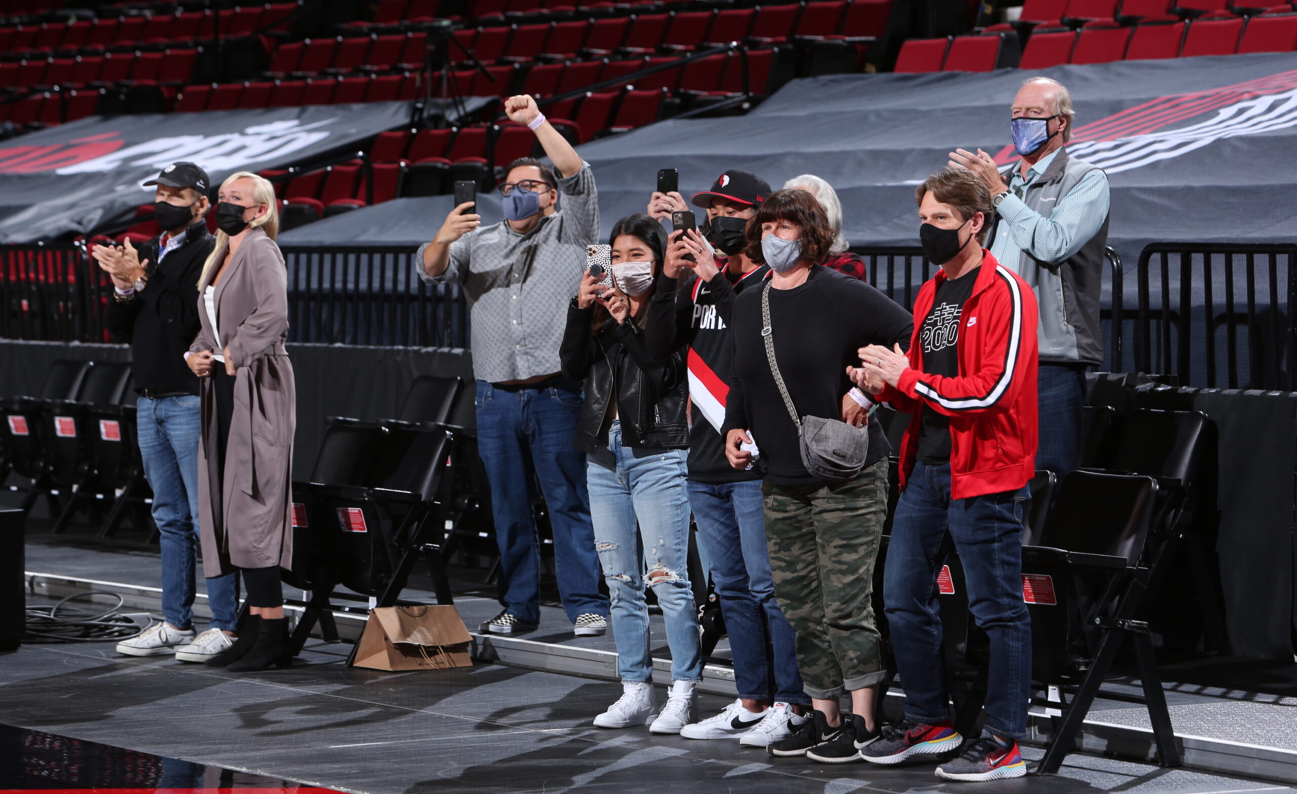 Vaccinated section opening for Portland Trail Blazers' games
