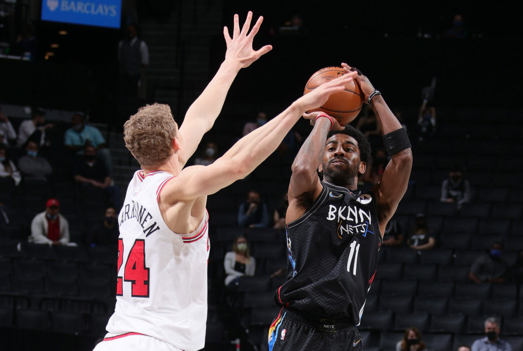 Nets welcome back their Big 3, cruise past Bulls
