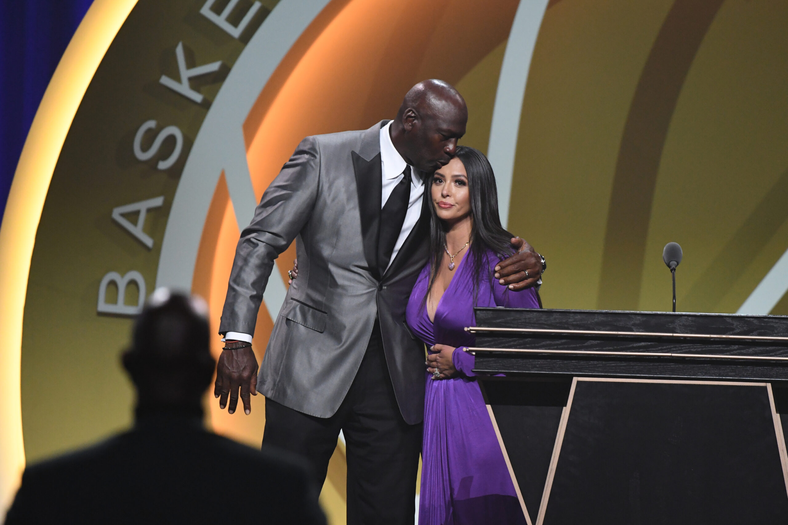 Vanessa Bryant's speech compounds emotion at 2020 Hall of Fame enshrinement