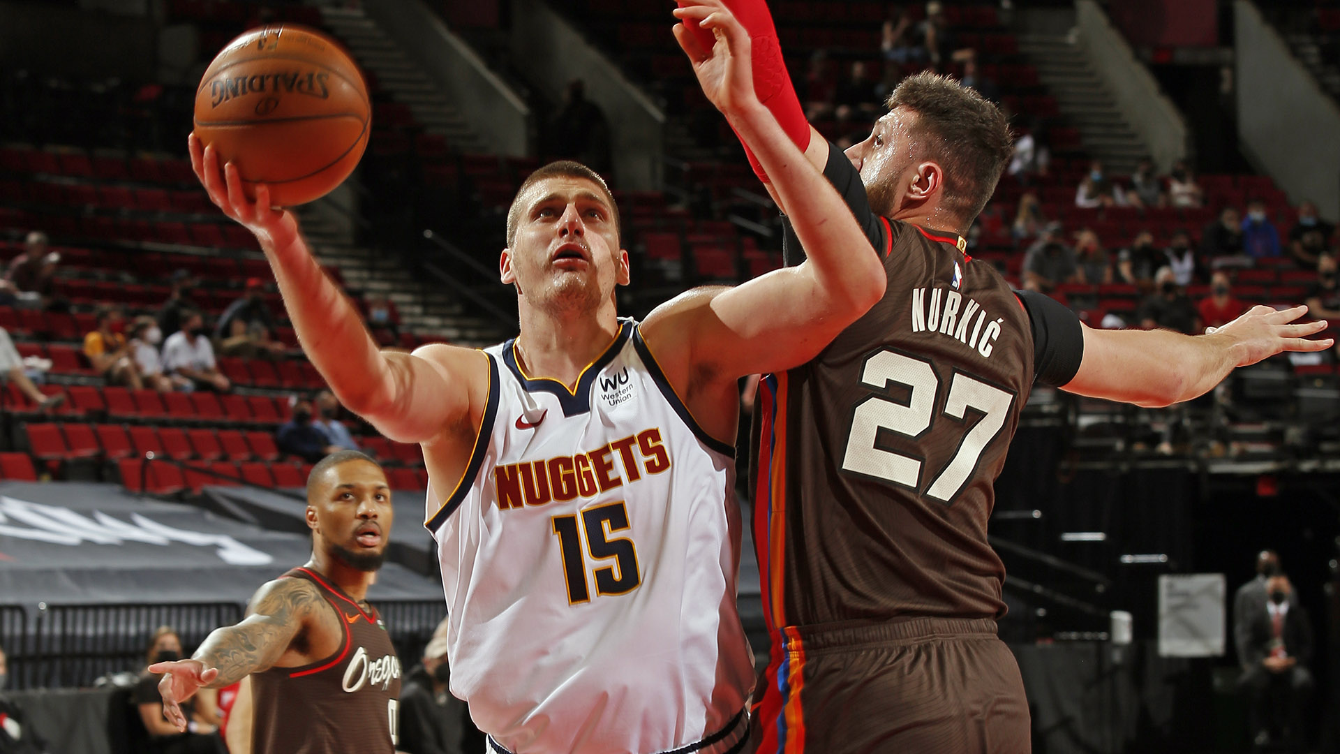 Numbers preview: Nuggets (3) vs. Blazers (6)