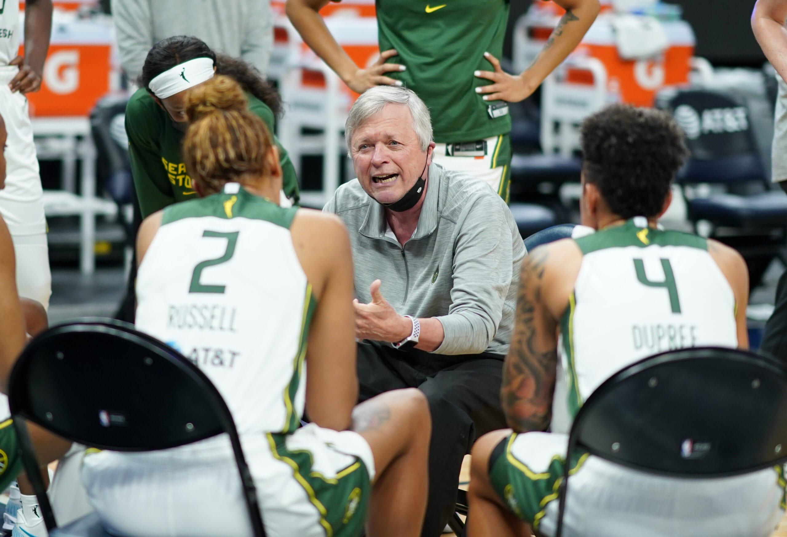 Storm, WNBA coaching icon Dan Hughes retires
