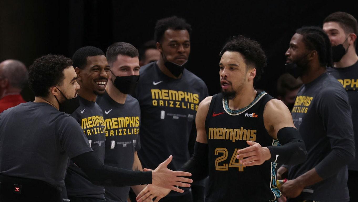 Dillon Brooks, Ja Morant lead Grizzlies' Game 1 upset of No. 1 seed Jazz