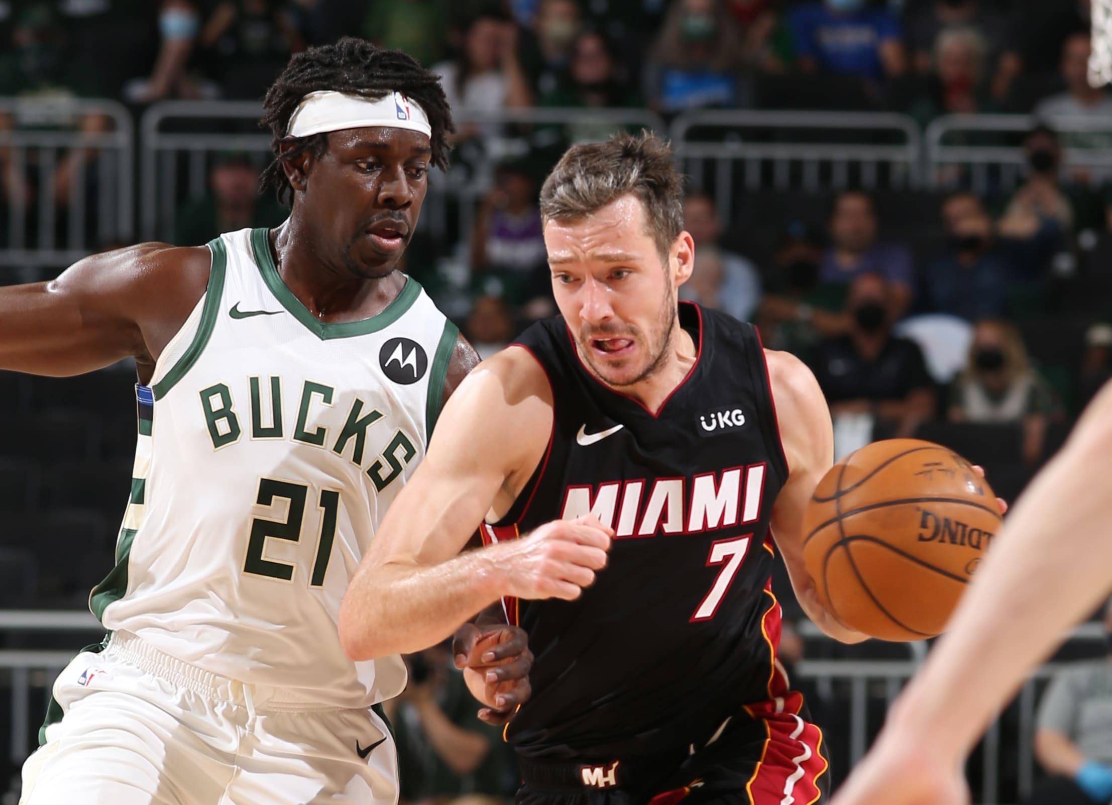 Goran Dragic replaces Kendrick Nunn in Heat starting lineup for Game 3 vs. Bucks