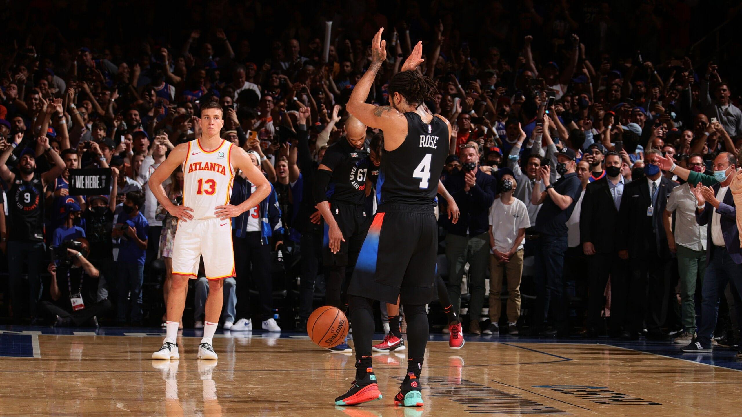 Garden gets rockin' as Knicks deliver emotional win