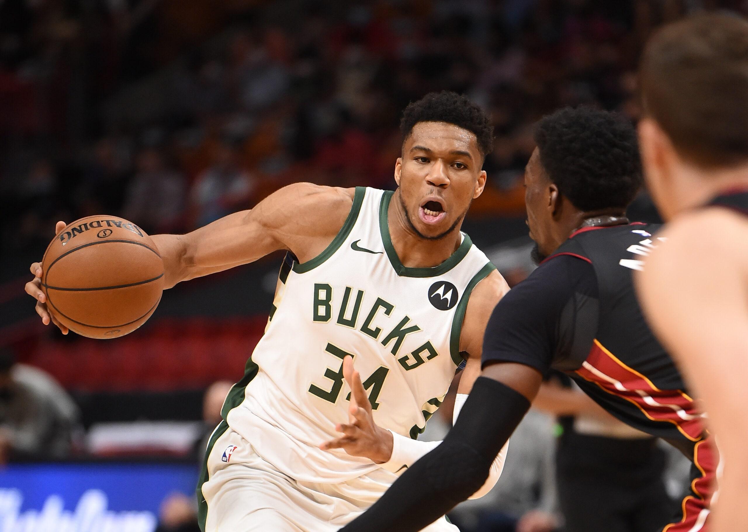 Bucks blast Heat, seize commanding 3-0 lead