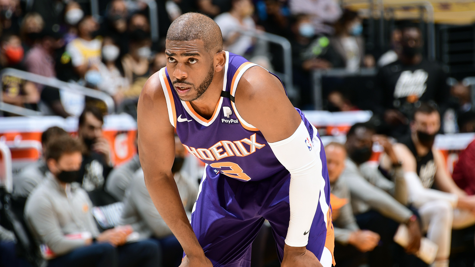 Chris Paul, listed 'questionable' with shoulder injury, will play in Game 4