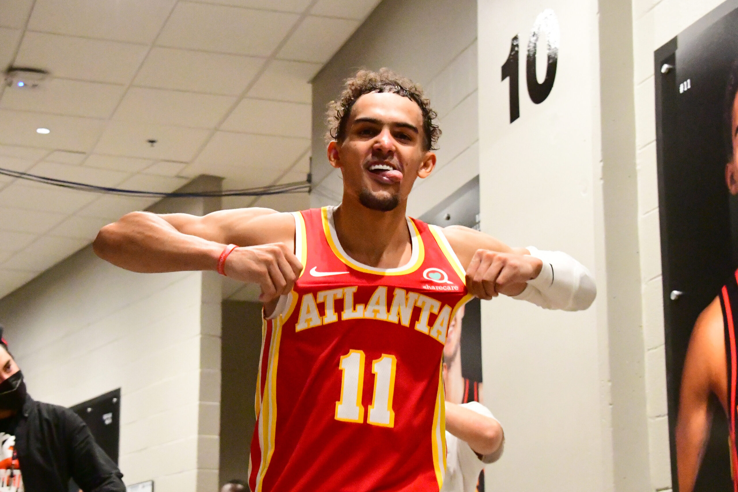 Trae Young flourishing on the big stage