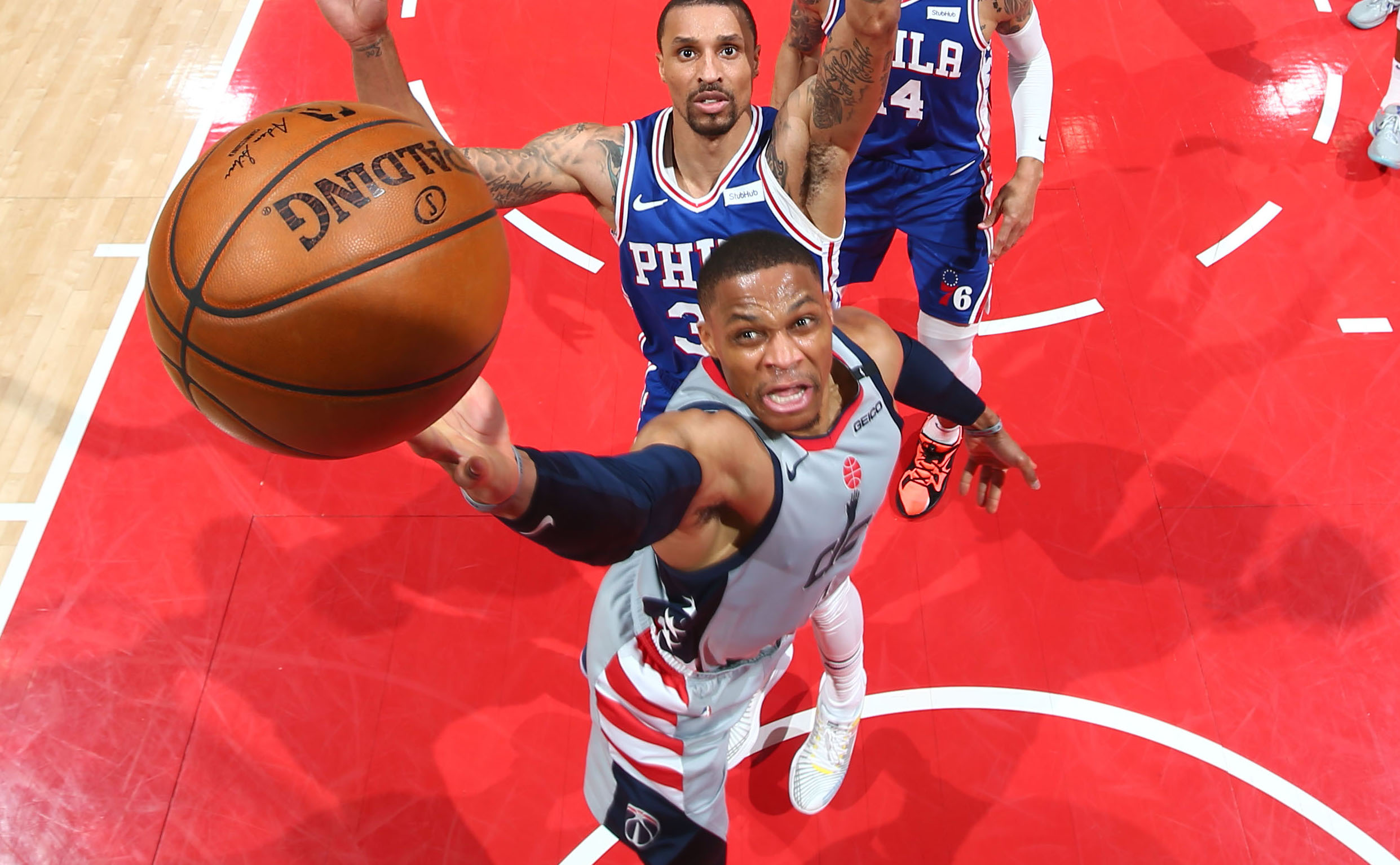 Westbrook's triple-double helps Wizards force Game 5