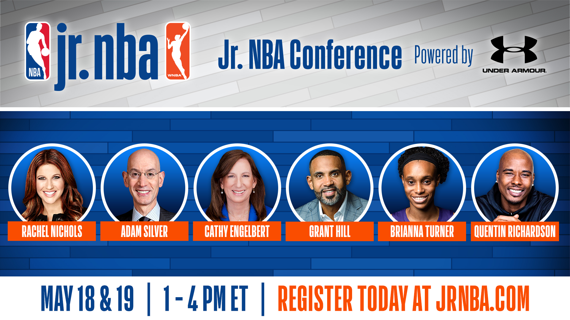 2021 Jr. NBA Conference powered by Under Armour Delivers a Dynamic Lineup of Speakers and Sessions Galvanizing the Youth Basketball Community