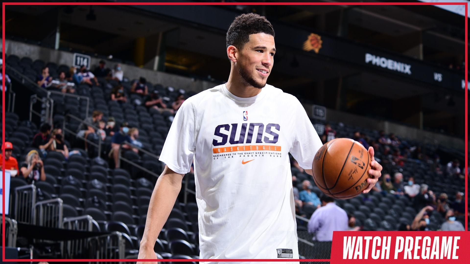 Watch Free: Suns vs. Hawks Pregame