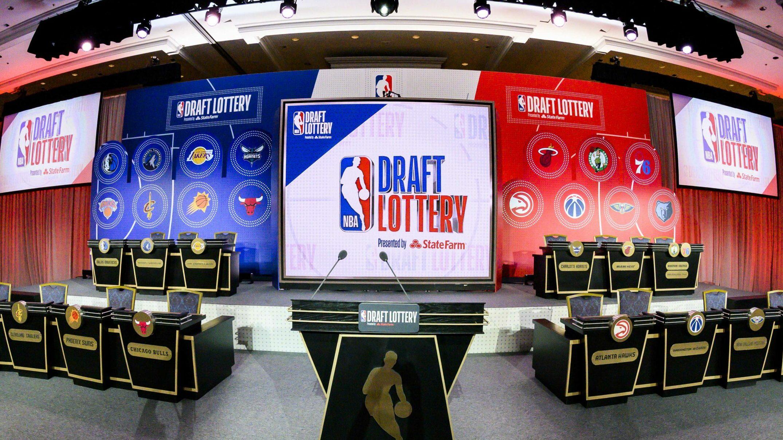 Ties broken for order of selection in 2021 NBA Draft
