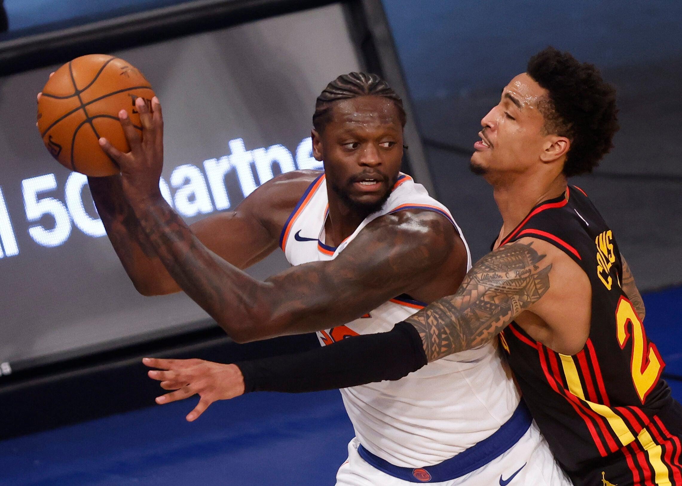 Numbers preview: Knicks (4) vs. Hawks (5)