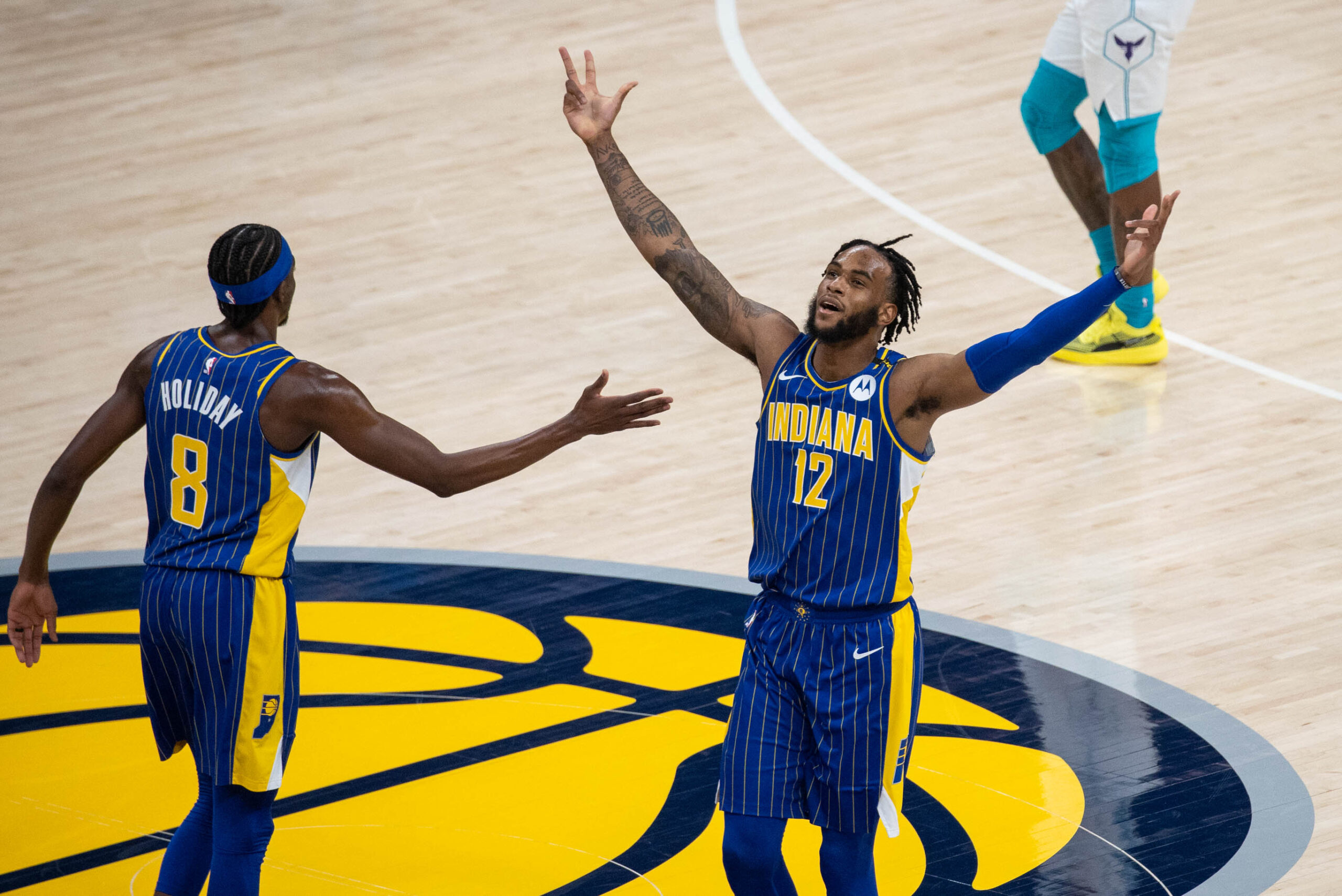 Pacers primed for postseason, Hornets look to learn