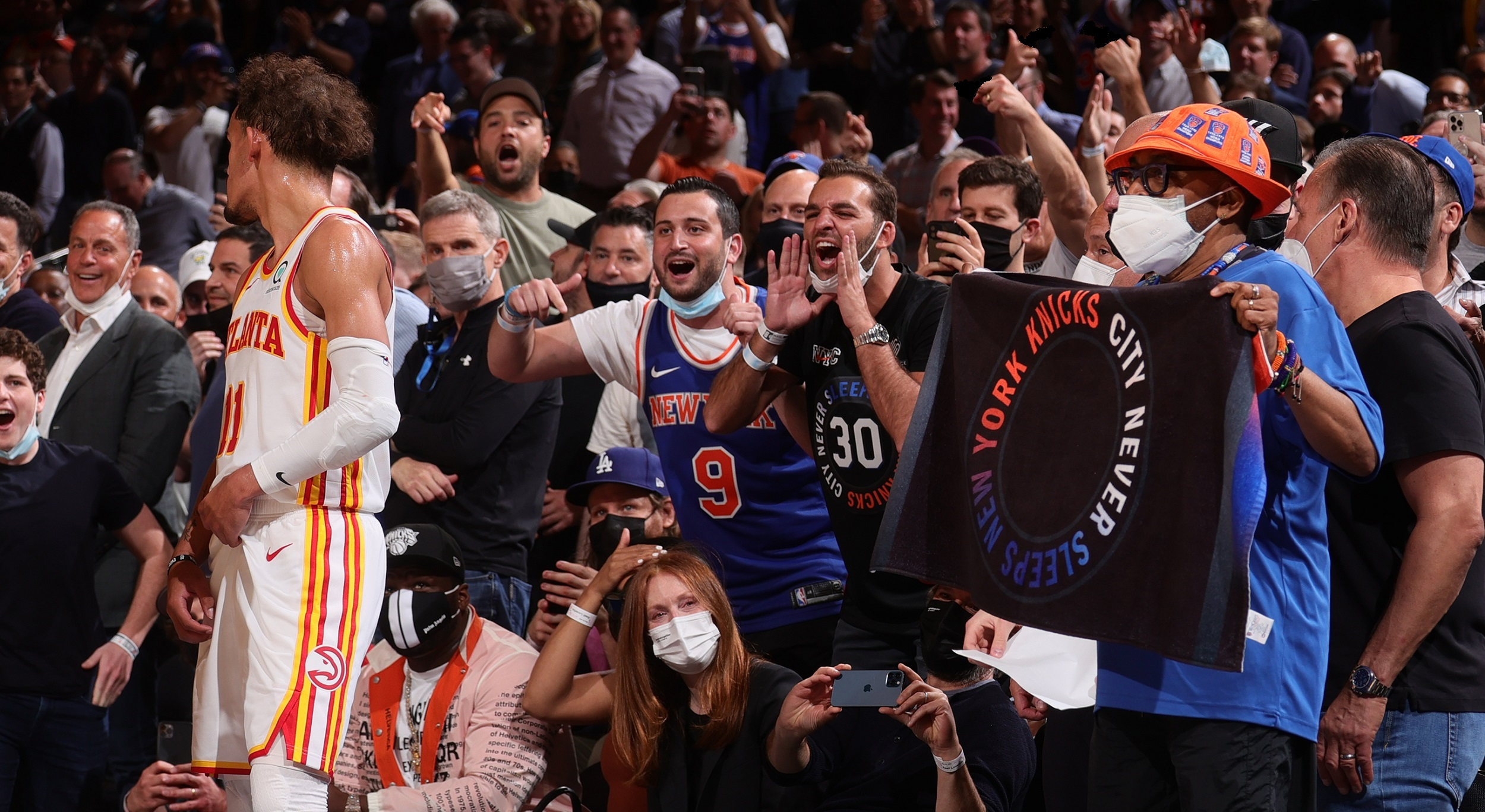 NBA releases statement on fan conduct at games