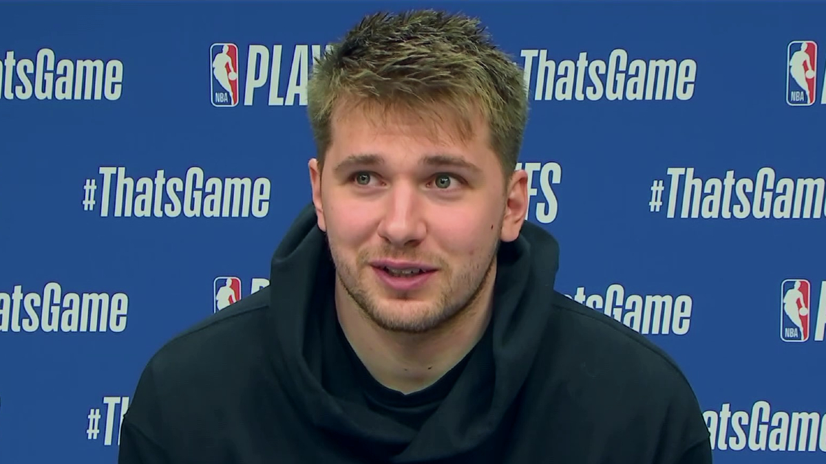 Luka Doncic: 'Nobody said this was going to be easy'