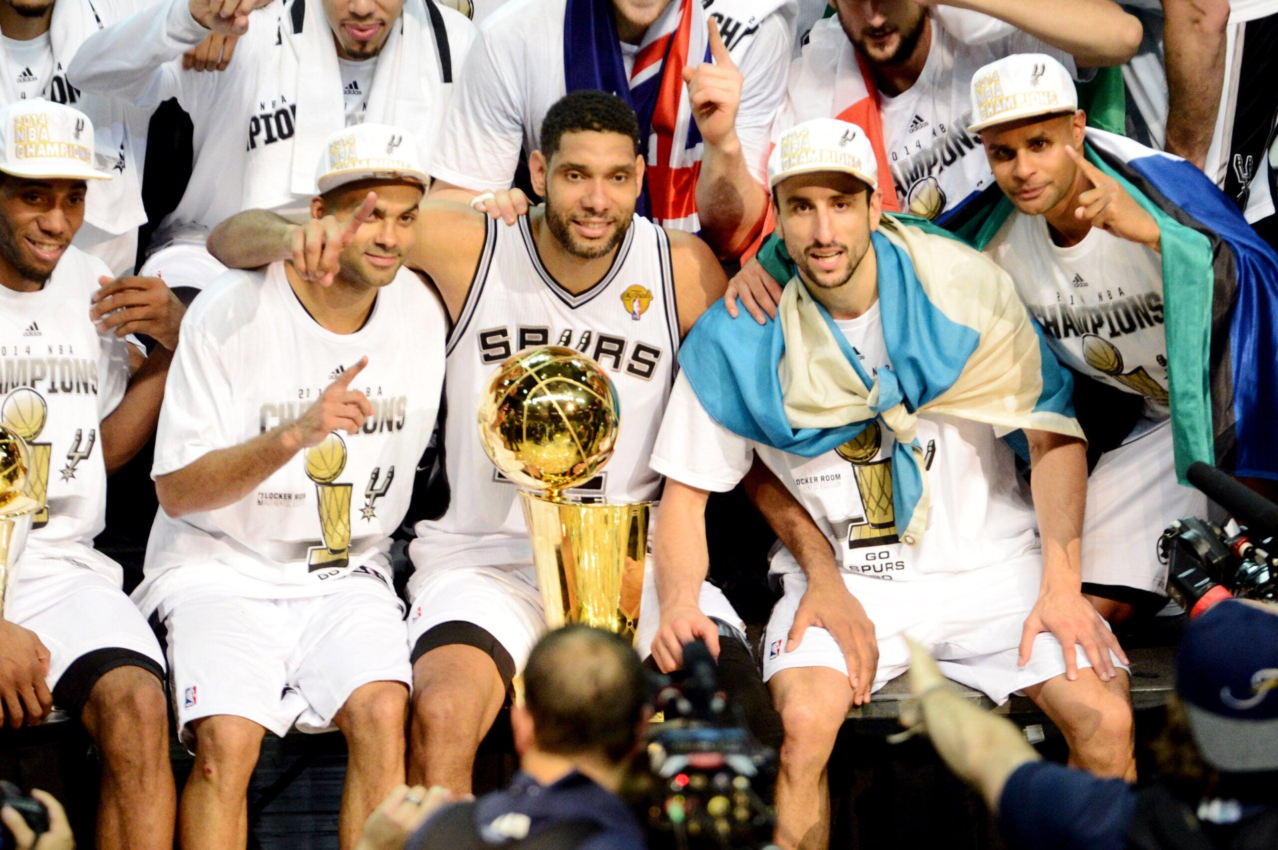 Top Moments: Spurs avenge Finals heartbreaker, beat Heat for 2014 title