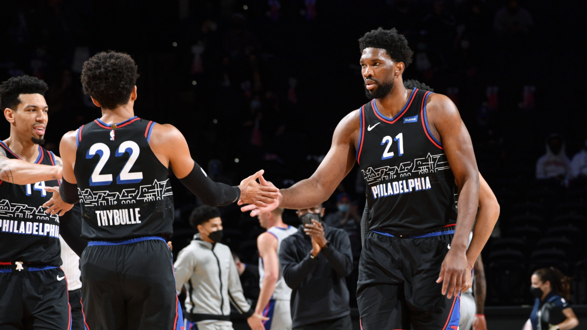 Embiid, Sixers cruise past Pistons for 8th straight win