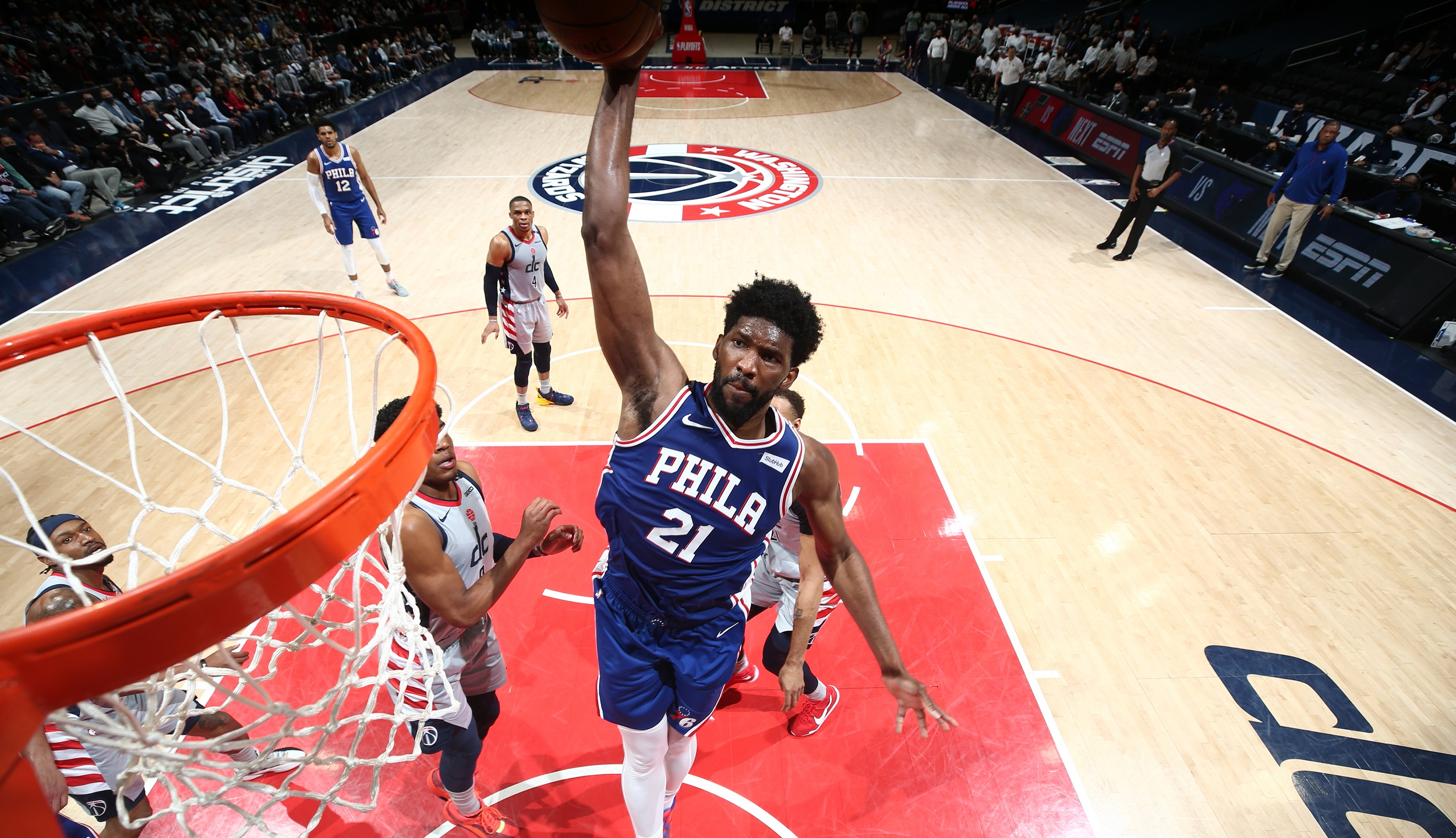 Joel Embiid scores playoff career-high 36 points