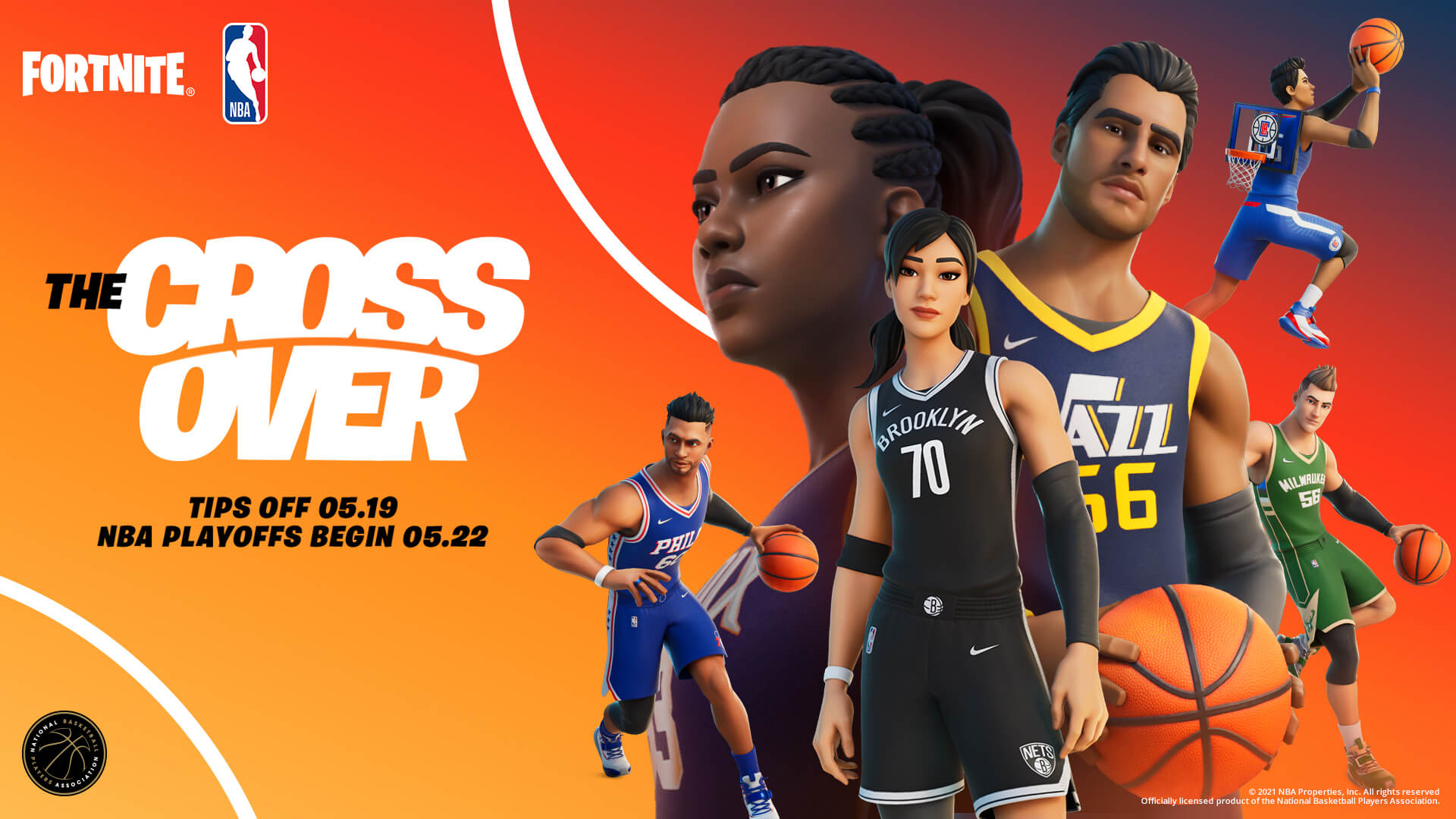 NBA announces partnership with Fortnite, unveils outfits for all 30 teams