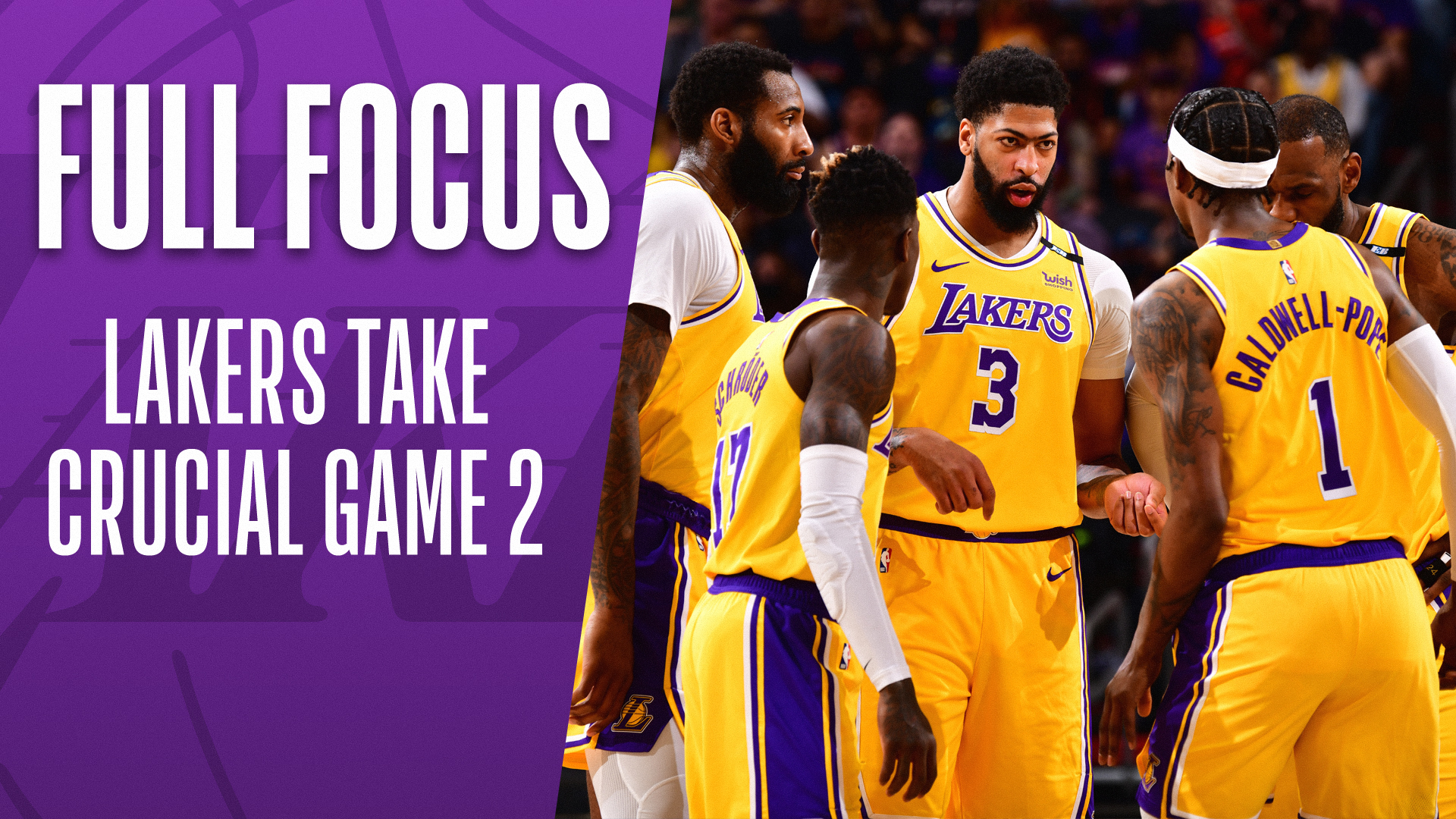 Full Focus: Lakers even series with Suns