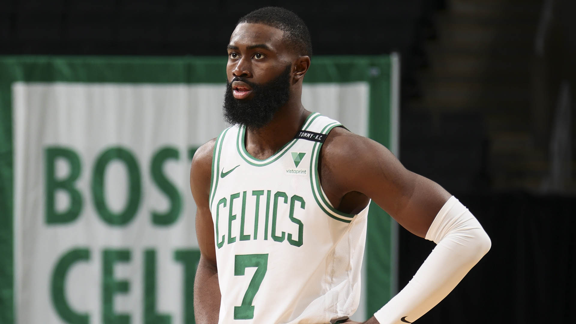 Jaylen Brown out indefinitely with a wrist injury