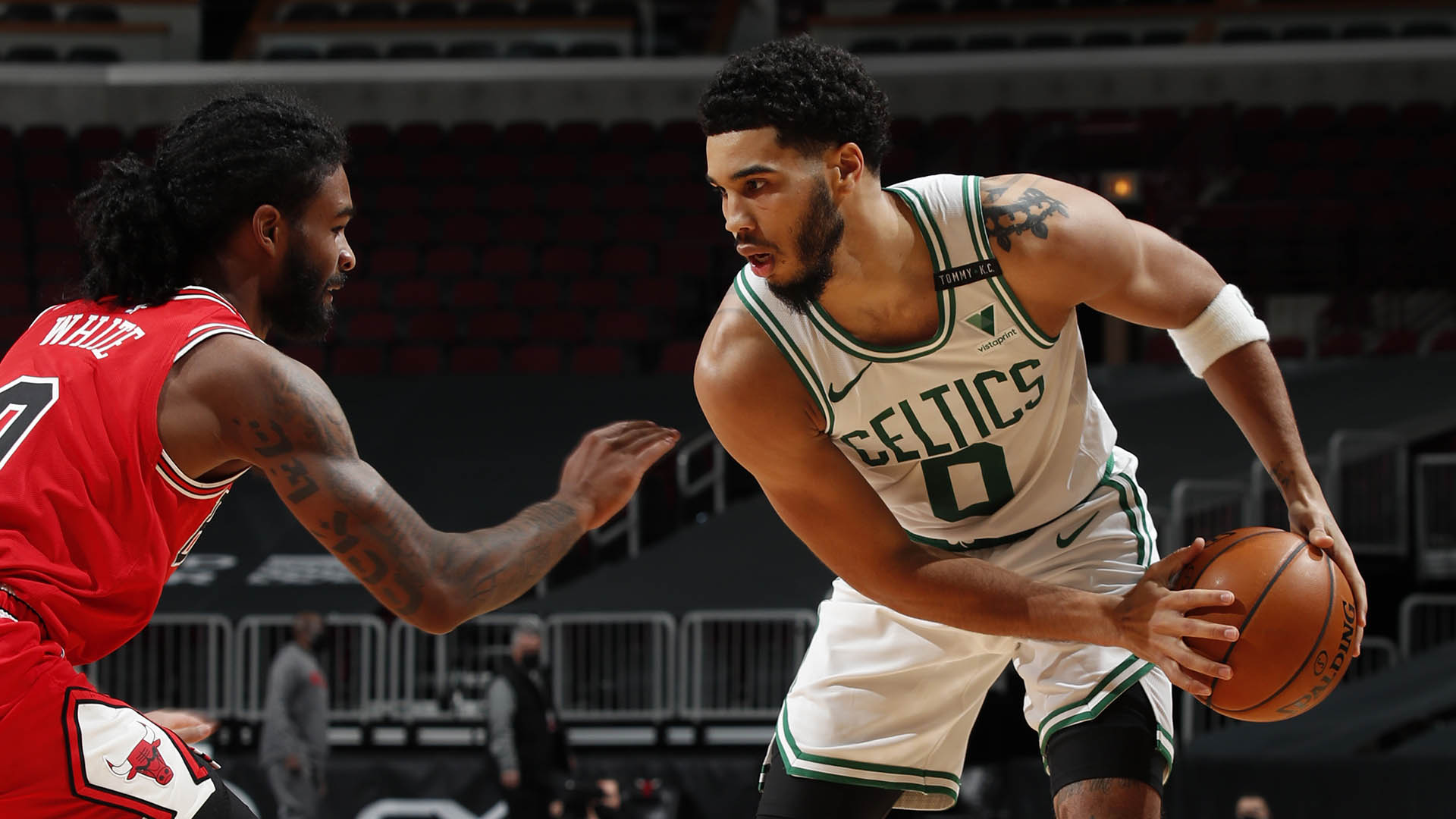 Celtics visit Bulls, look to maintain No. 6 spot