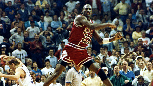 Top Moments: Michael Jordan hits 'The Shot', breaks Cavs' hearts