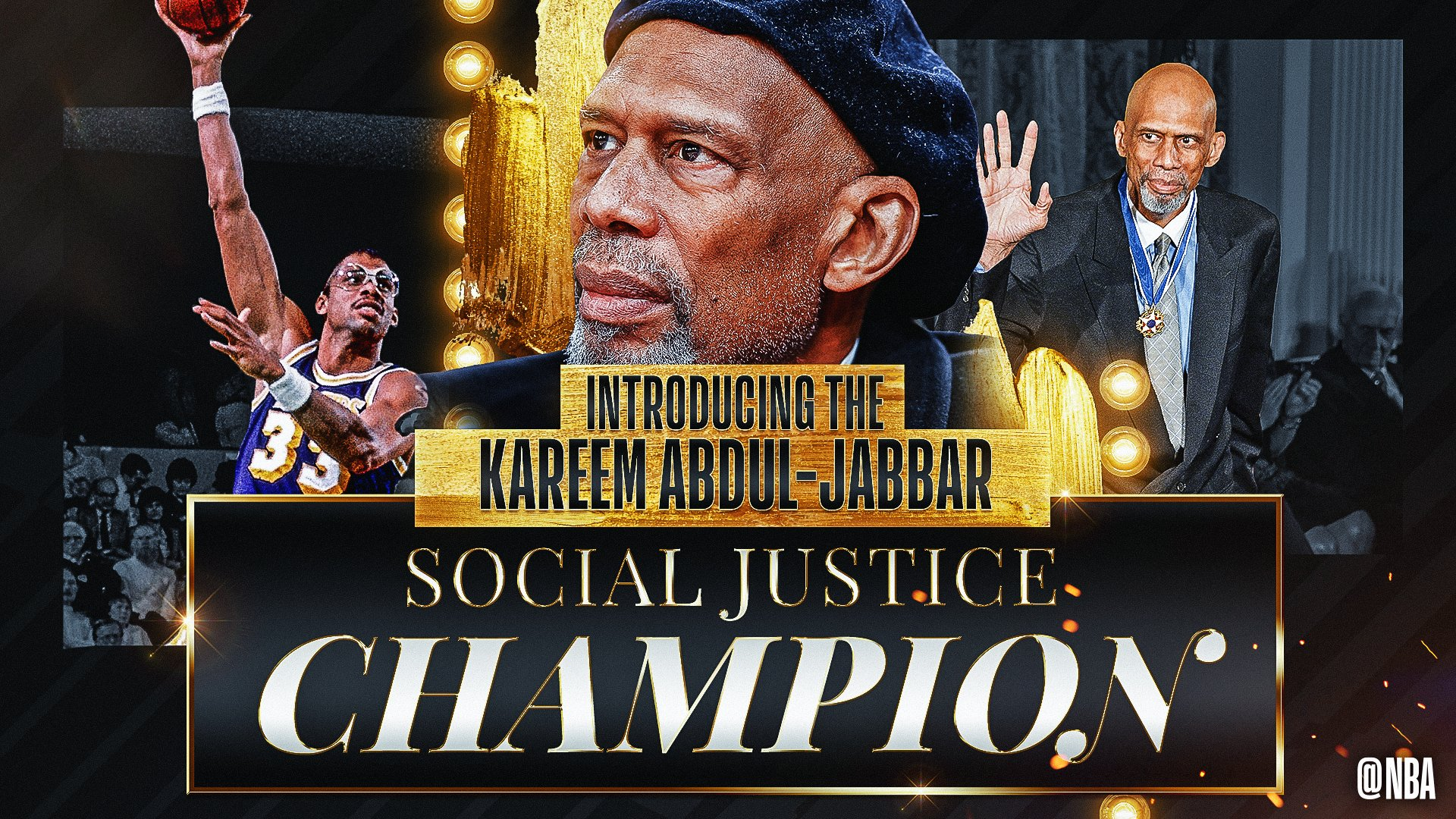 NBA creates annual Kareem Abdul-Jabbar Social Justice Award