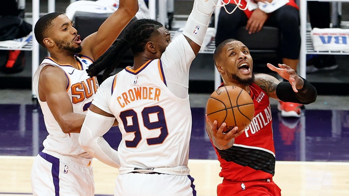 Blazers' loss sets up fantastic finish in West