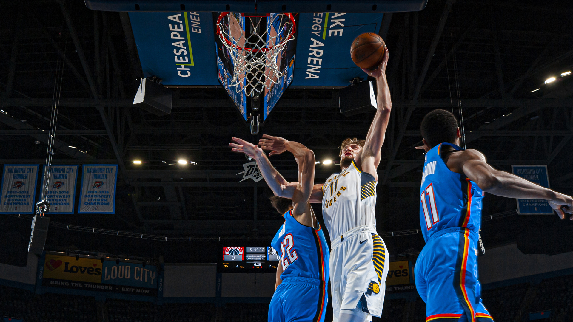 Game Recap: Pacers 152, Thunder 95
