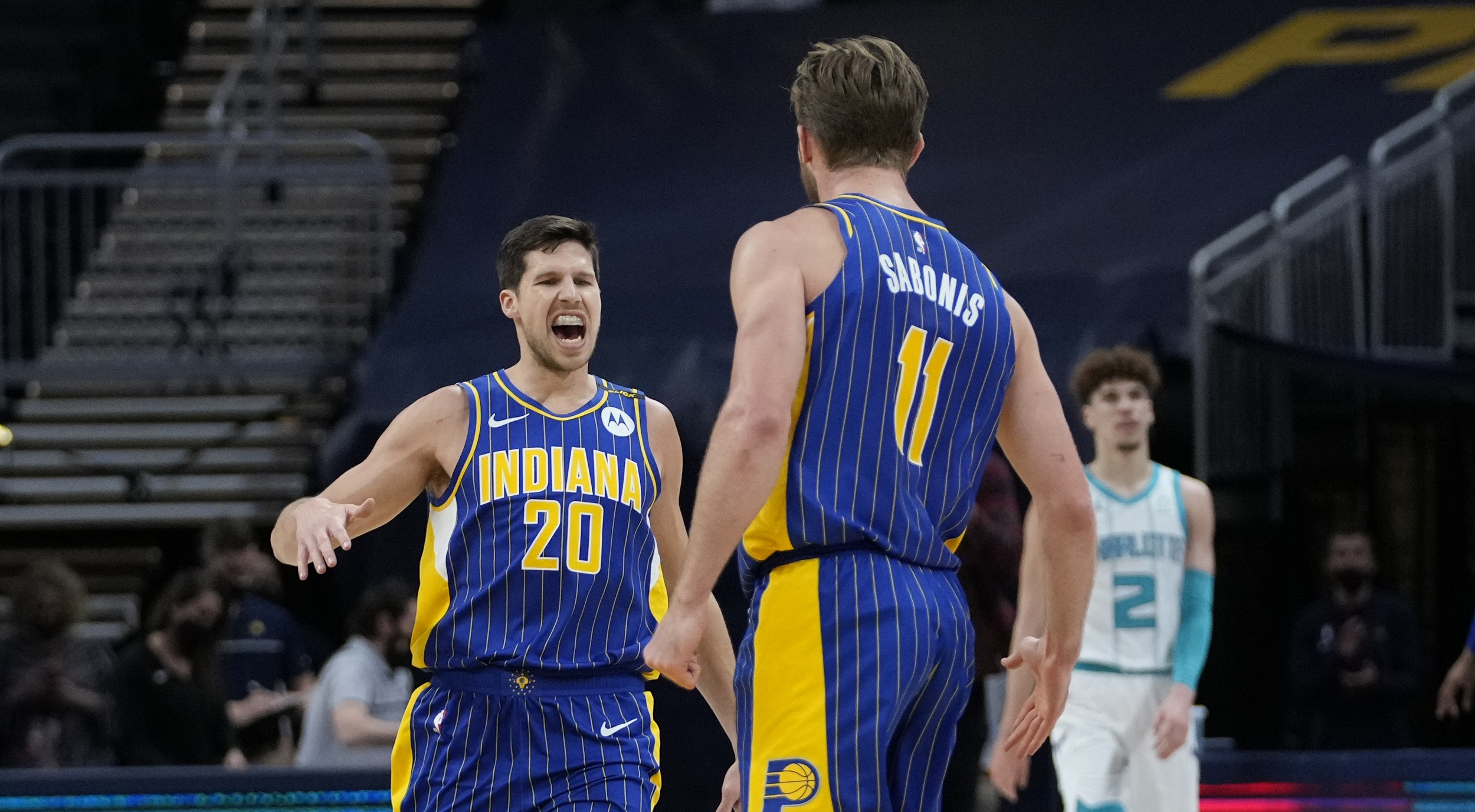 Game Recap: Pacers 144, Hornets 117